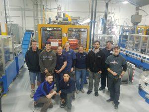 Rocheleau 10 Stevens 1st shift Team