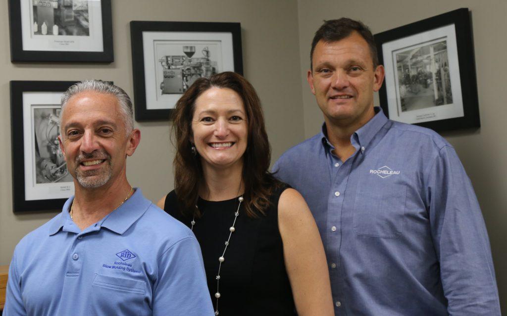 Sales Team: Ron Vecchio, Cathy Rocheleau, Steven Rocheleau