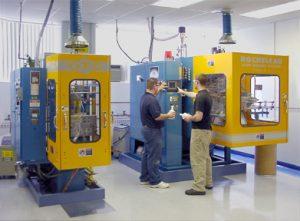 Rocheleau Blow Molding Lab at UMass Lowell