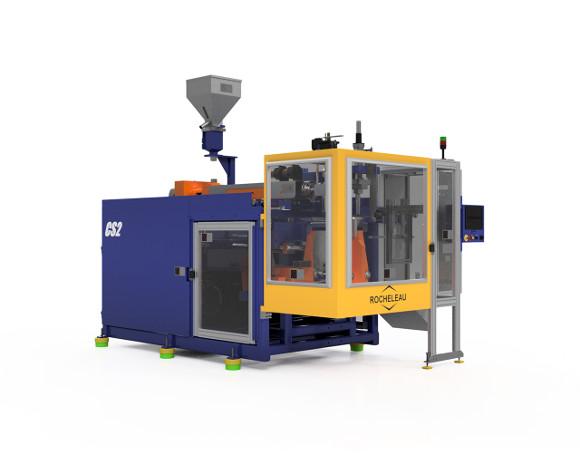 Continuous Screw Blow Molding Machine